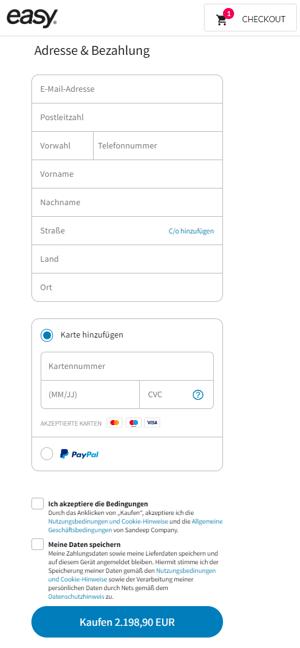 Tysk betalingsvindue