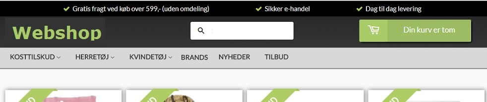 troværdighed above the fold