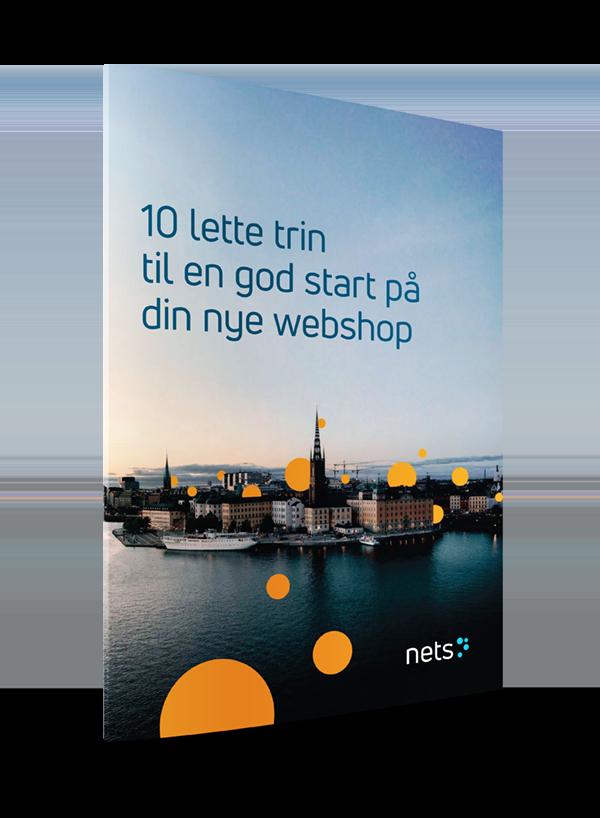 E-bog - 10 trin til at starte en ny webshop